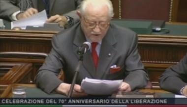 Il Dott. Michele Montagano, presidente vicario dell'ANRP, interviene alla Camera