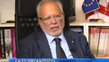 Intervista al presidente Enzo Orlanducci circa i 116 cinesi internati in Abruzzo – 2015