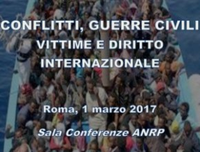 Seminario: CONFLITTI, GUERRE CIVILI VITTIME E DIRITTO INTERNAZIONALE