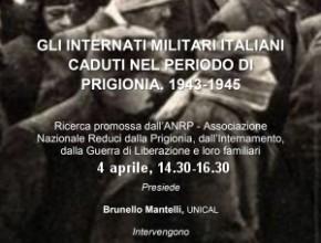 Gli Internati Militari Italiani caduti nel periodo di prigionia 1943-1945