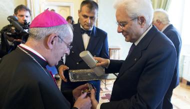 Quirinale: consegna della Medaglia d'Oro al Merito Civile alla memoria di Don Gioacchino Rey