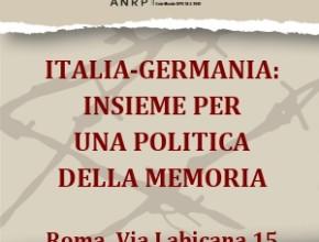 Italia-Germania: insieme per una politica comune. Mostra in esposizione a Roma
