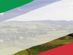 Festa della Repubblica: Il Tricolore da Guinness sfila da Gallio ad Asiago