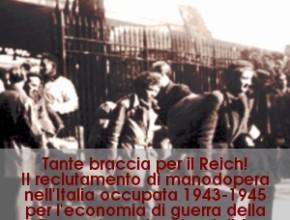 """Terni: presentazione del volume """"Tante braccia per il Reich!"""""""