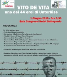 Vito De Vita uno dei 44 eroi di Unterlüss