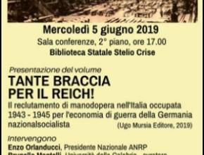"""""""Tante braccia per il Reich"""" – Presentato a Trieste"""