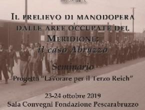 Seminario – Il prelievo di manodopera dalle aree occupate del Meridione: il caso Abruzzo