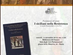 Presentazione del volume: I siciliani nella Resistenza