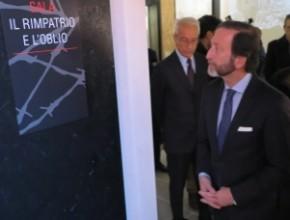"""L'Ambasciatore della Repubblica Federale di Germania Viktor Elbling visita il Museo """"Vite di IMI"""""""