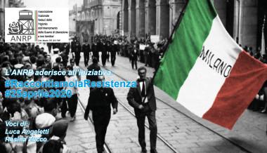 25 aprile 2020: l'ANRP per il 75° anniversario della Liberazione