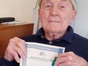 Auguri per i 100 anni di Artemio Giatti