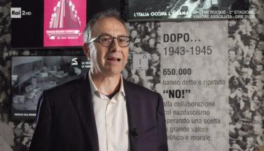 Rai 2 intervista Mario Avagliano, storico e dirigente ANRP